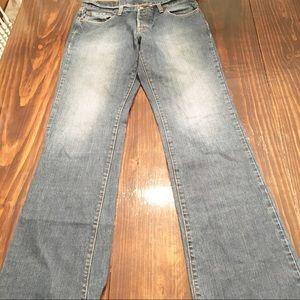 Lucky Brand Men's Slim Bootleg 32 Long Jean